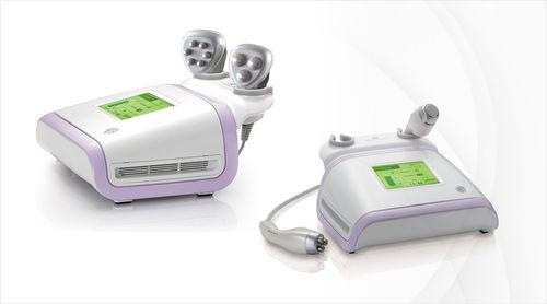 RF body contouring skin care unit