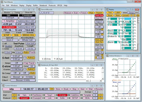 research data acquisition system