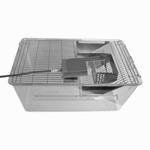 rodent animal research cage / modular
