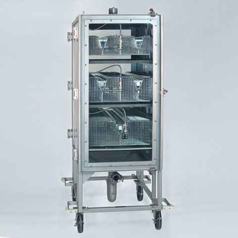 animal research inhalation chamber / veterinary