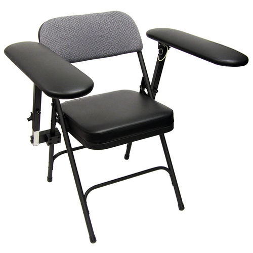 chair with armrests / folding