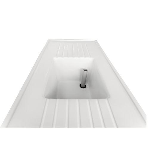 technical ceramics sink / laboratory / medical / for hygiene area
