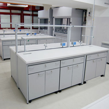 histopathology laboratory bench / for nuclear medicine / sterilization / for clean rooms