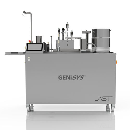 filling and closing machine for the pharmaceutical industry / automated / rotary / aseptic