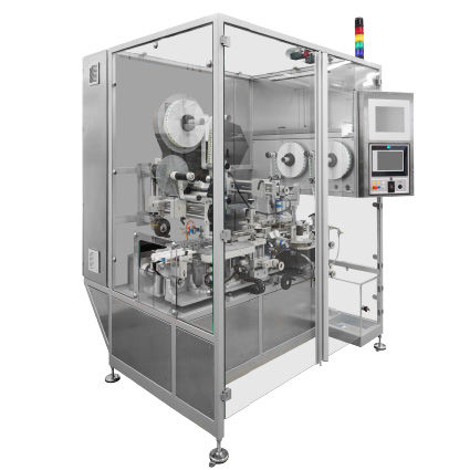 pharmaceutical industry labeling machine