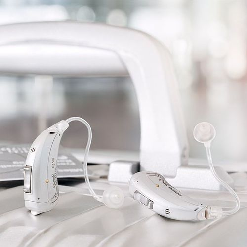 BTE open fit hearing aid