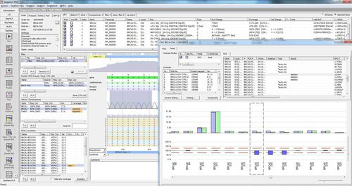 NGS sequencing software module