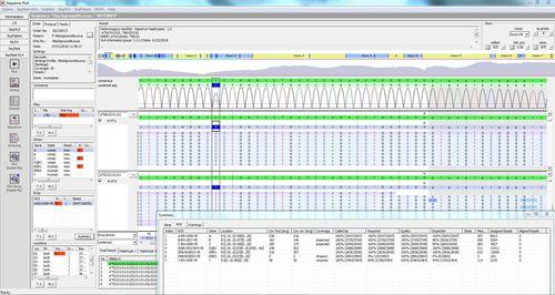 HLA sequencing software module