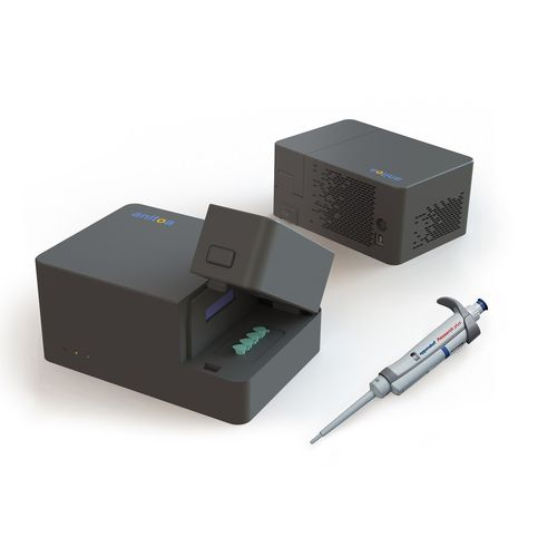 real-time PCR system / compact / high-performance / portable