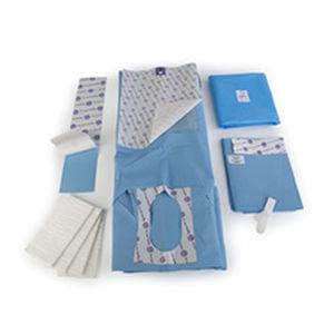 general surgery medical kit / laparoscopic surgery / patient