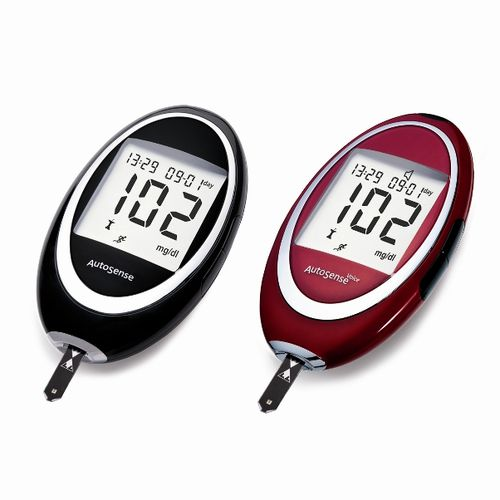 blood glucose meter with speaking mode