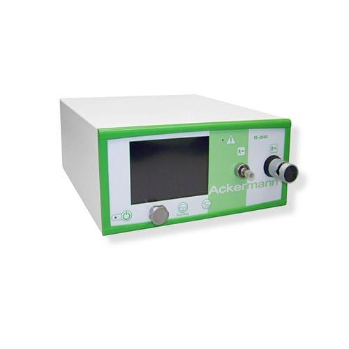 endoscopy insufflator with gas preheating