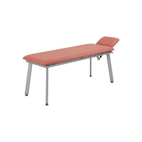 manual examination table / fixed-height / 2-section