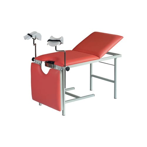 gynecology examination table / fixed-height / 3 sections