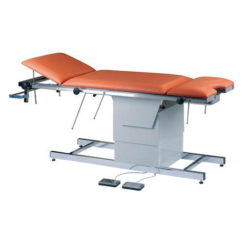 electric examination table / height-adjustable / Trendelenburg / reverse Trendelenburg