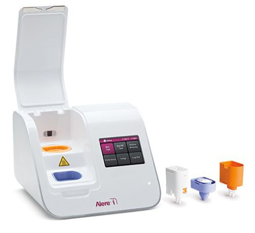 Streptococcus A POC analyzer / for infectious diseases / nasal / molecular