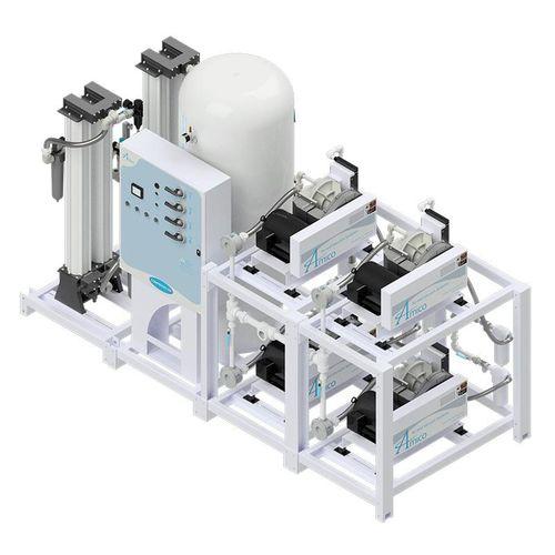 Medical air compression system - NFPA Quadruplex SCD - Amico - modular / oil-free / spiral