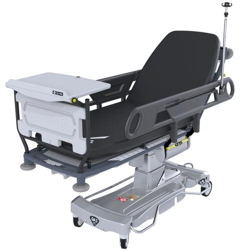 emergency stretcher trolley / electric / height-adjustable / Trendelenburg