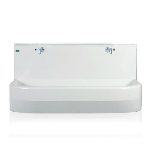 2-station wash basin / infrared-operated