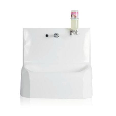 1-station wash basin / infrared-operated