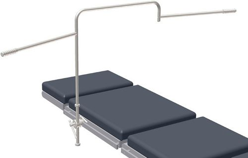 operating table anesthesia screen / articulated