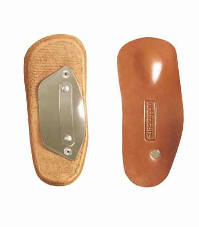 3/4 length orthopedic insole with transverse arch pad / adult / for pes cavus / for flat feet