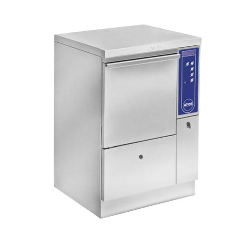 bedpan washer-disinfector / floor-standing / with manual closure
