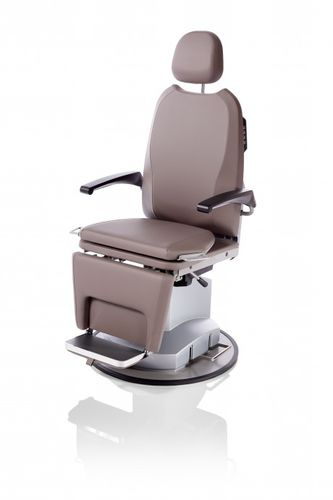 ENT examination chair / electric / height-adjustable / with adjustable backrest