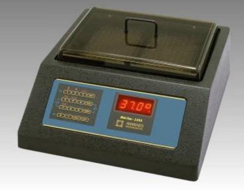 compact laboratory incubator / for microplates