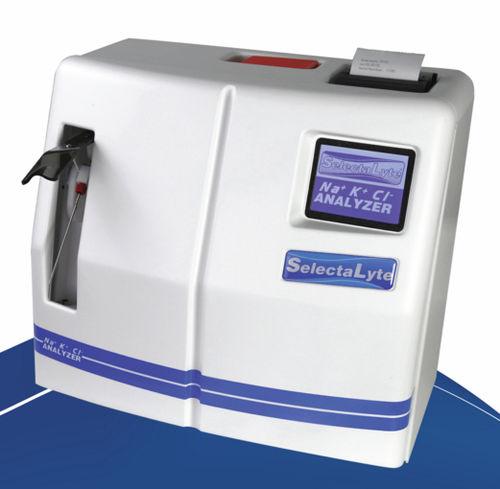 K+ electrolyte analyzer