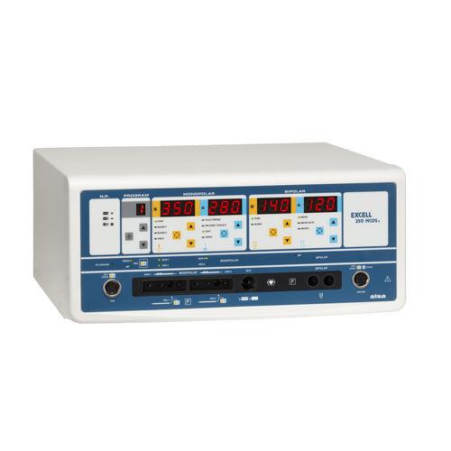 monopolar cutting electrosurgical unit / bipolar cutting / bipolar coagulation / monopolar coagulation