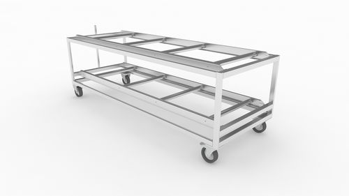 body tray storage rack
