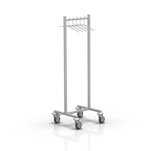 mobile X-ray apron rack