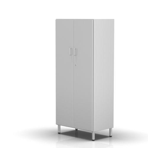 hospital cabinet / with shelf / 2-door