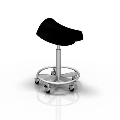 doctor's office stool / saddle seat / ergonomic