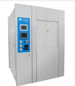 medical sterilizer / steam / vertical / with touchscreen