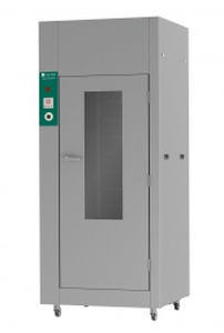 drying cabinet / for instruments / hospital / 1-door