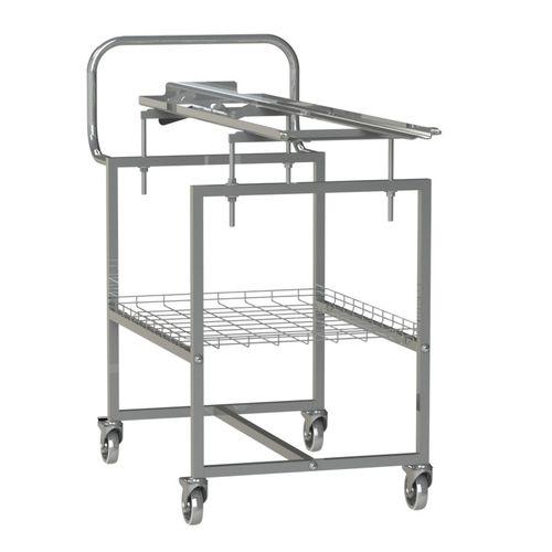 sterilization trolley / storage / transport / for instruments