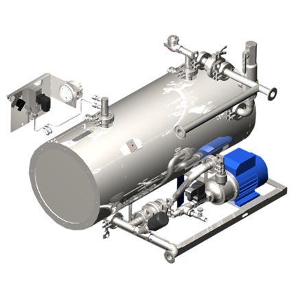 sterilizer steam generator
