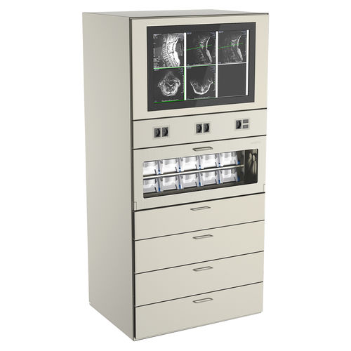 built-in cabinet / for instruments / for medicine / operating room