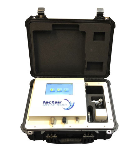 ambient air tester / multigas / for healthcare facilities / portable