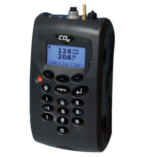 ambient air tester / carbon dioxide / for healthcare facilities