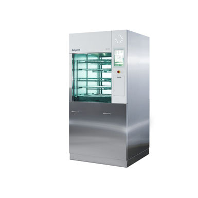 front-loading washer-disinfector / automatic / high-capacity