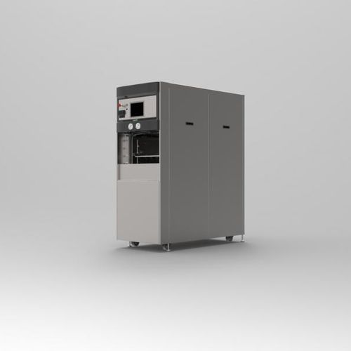 medical autoclave / compact / vertical / mobile