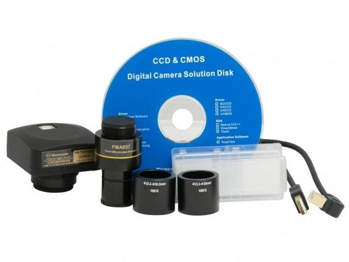 microscope camera / digital / CMOS / USB