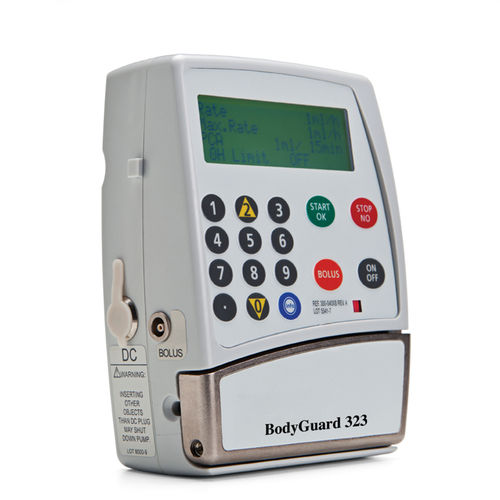 1-channel infusion pump / volumetric / ambulatory / PCA