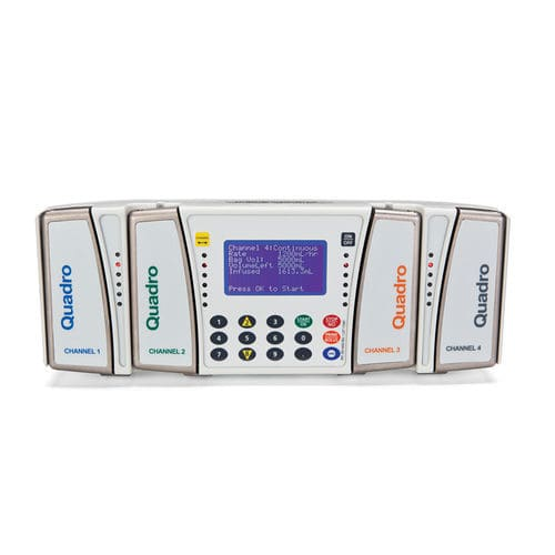 4-channel infusion pump