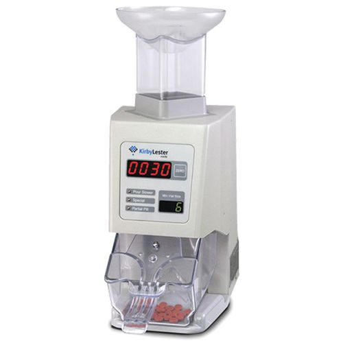 tablet counting machine / electronic / compact / bench-top