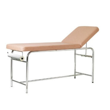 manual examination table / fixed-height / 2 sections