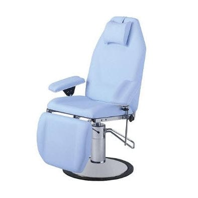 hydraulic blood donor chair / 3-section / height-adjustable / Trendelenburg
